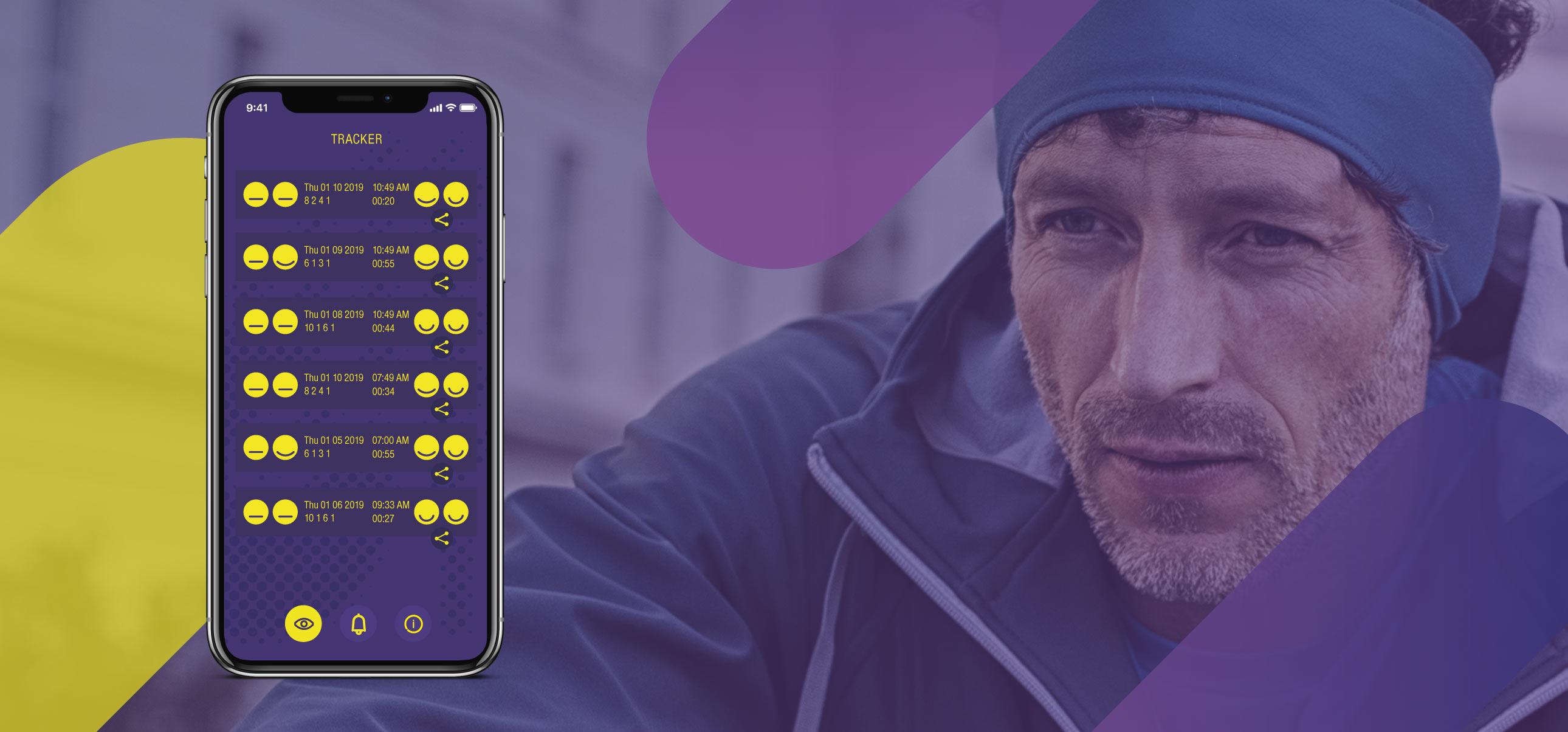Breathe IN, Mind ON App Tracker