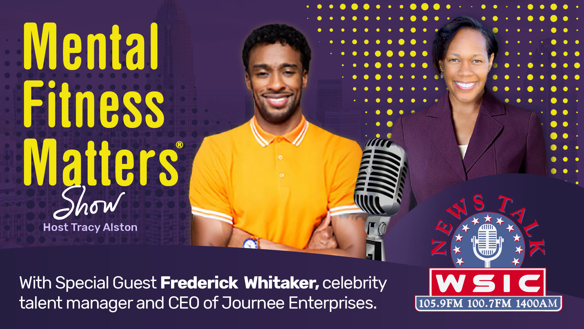 The Mental Fitness Journey of Frederick Whitaker, a Celebrity Talent Manager