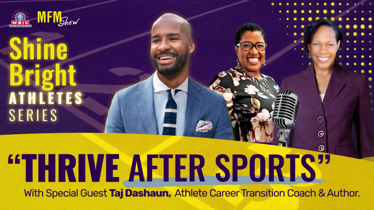Thrive After Sports with Taj Dashaun